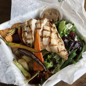 French chicken Nicoise box - Cincinnati Ballet